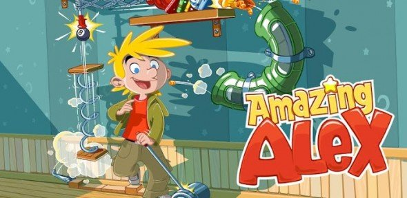 [iOS、Android 遊戲] 不再憤怒鳥!Amazing Alex 神奇的阿力出場!