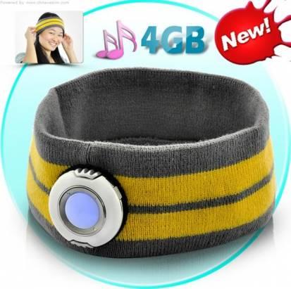 又酷又實用的MP3頭帶