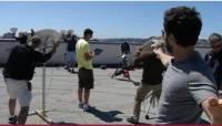 2012 Google I O 第二日再度以跳傘作為收尾高潮