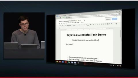 Chrome OS 板的 Google Doc 終於可離線作業!