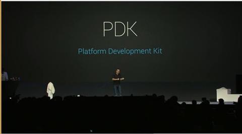 Google 針對軟體開發者除了 SDK 以外,還將推出晶片商與設備商推出 PDK