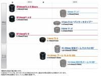 富士 X-Pro 1 可用鏡頭將在 2013 年增加到 10 顆!