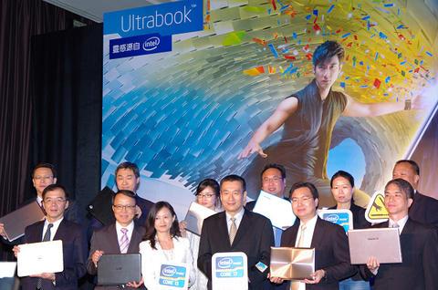 Intel 在台與九大廠商宣示,更多變的 2 代 Ultrabook 全面來襲