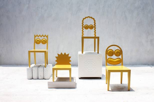 辛普森家族造型椅