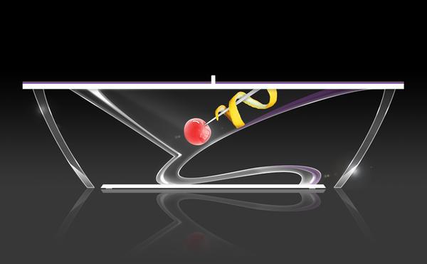 完美結合蜘蛛人與桌球的藝術球桌
