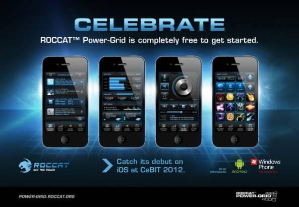 ROCCAT Power Grid 智慧型手機直接控制電腦遊戲