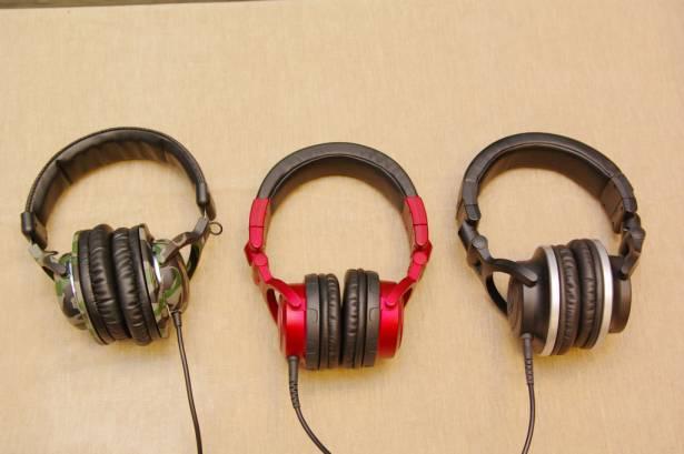 一門三傑,鐵三角 3 款 DJ 耳機短評