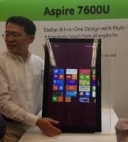 Computex 2012:acer 推出 Aspire 7600U AIO 一體成型觸控電腦