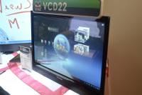 Computex 2012:巨型平板?ViewSonic 展出VCD22,21.5吋的裝置,內含冰淇