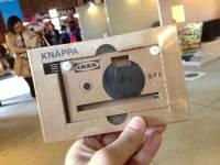 [開箱文] 比玩具還玩具的IKEA KNÄPPA紙相機