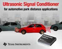 TI 推出超音波停車車距解決方案,看來以後倒車擦撞越來越不易了