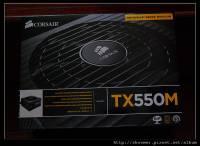 CORSAIR TX550M 貼近實用的模組化PSU REV 1.0