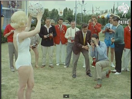 1961 年的SG外拍活動