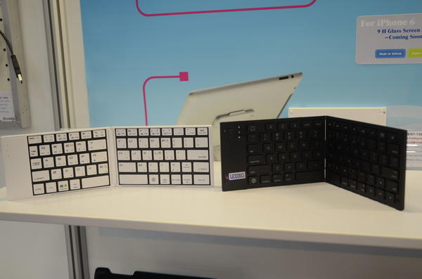 Computex 2014:雷斯特科技所展的特異鍵盤