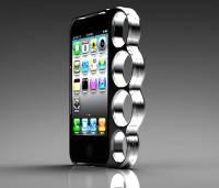 夜歸婦女的防身利器,iPhone 手指虎保護殼