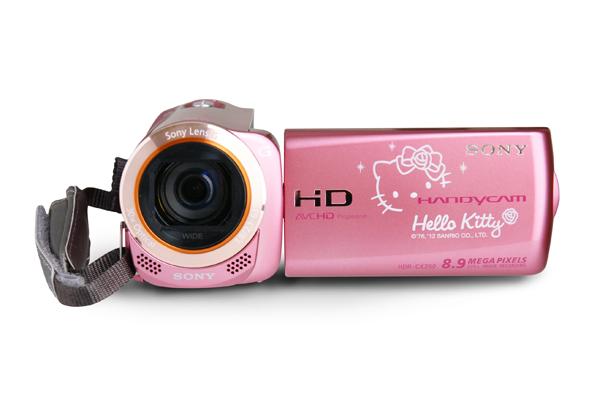 媽媽用好、妳用也好之Sony Handycam Hello Kitty 限量版