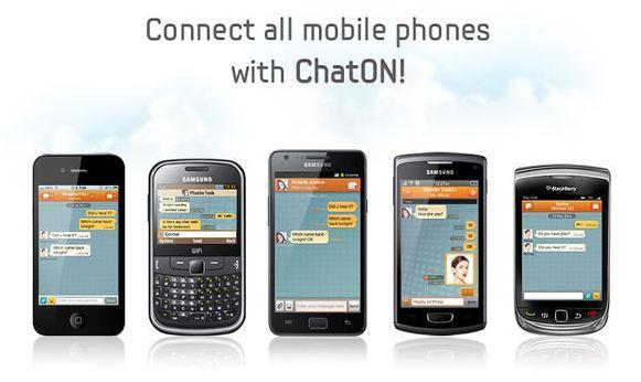 三星的『ChatON』聊天軟體支援黑莓機囉!