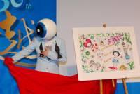 由眼球先生操刀的 Epson 30 週年紀念印表機的概念圖