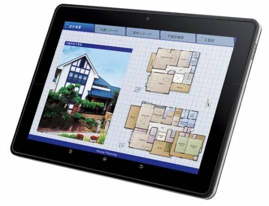 Sharp推出新的Android平板,具備NFC機能