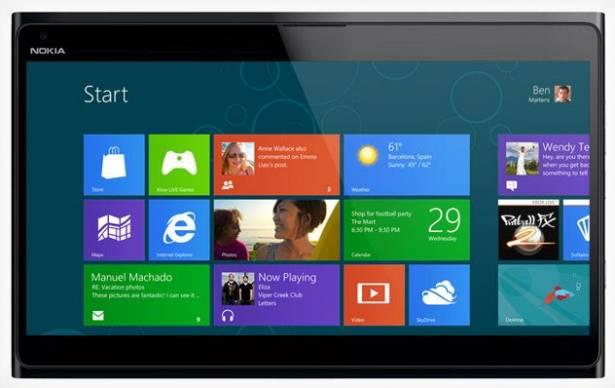 據說 Nokia 將在年底推出 Windows 8 平板