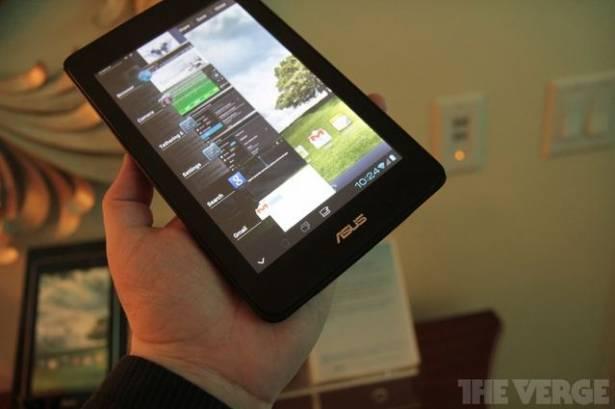 ASUS 將推出七吋平板和 Kindle Fire 對打?