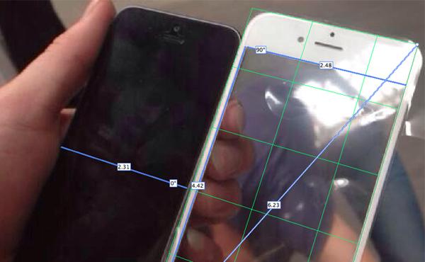 根據流出面蓋, iPhone 6 螢幕竟是 5.1 吋才對?!