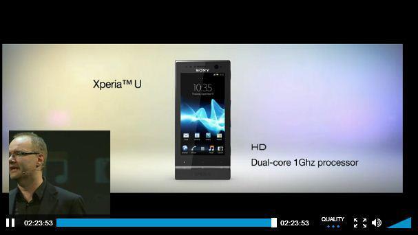 Sony Xperia NXT 系列么弟 Xperia U 登場