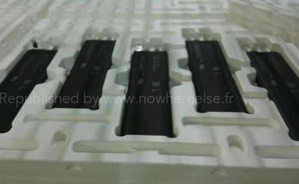 iPhone 6 新設計電池流出, 電量終於大增?