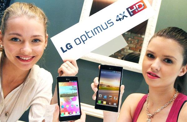 LG Optimus 4X HD 發表:1.5GHz Tegra 3 四核心、4.7 吋螢幕和運行 Android 4.0
