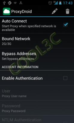 ProxyDroid - 翻牆的另外一個選擇(需要root權限)