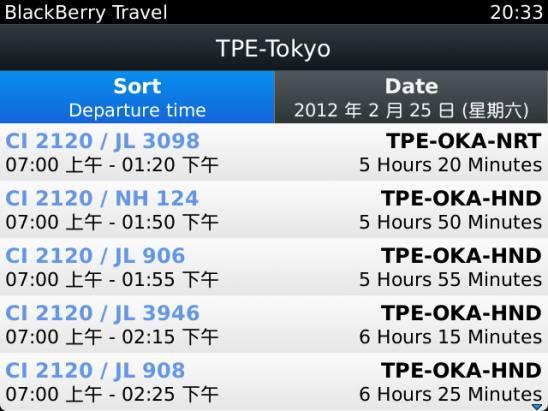 Blackberry Travel 讓你輕鬆出遊,旅行達人非你莫屬