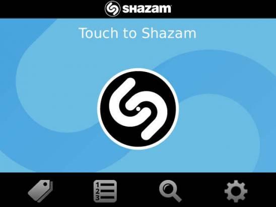 黑莓聽歌辨名好耳力,Shazam 音樂字典帶著走