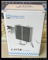 又一款千元以內的平民化散熱器 Prolimatech Lynx