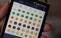 """LINE 有趣新玩法: 加入 1 000 個 """"sticon""""「迷你貼圖」"""