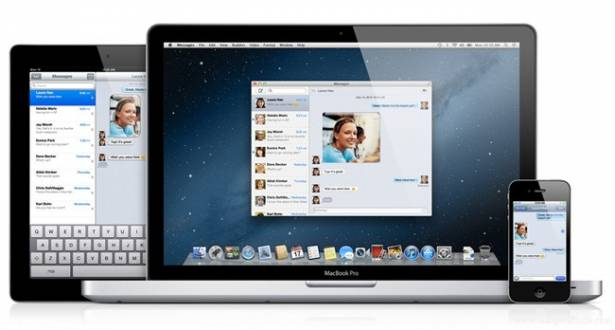 OS X 10.8 Mountain Lion 預覽:Messages 的整合