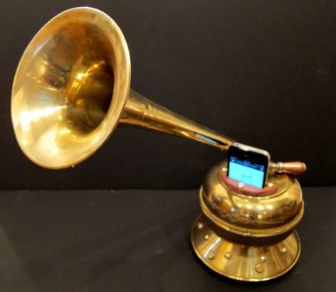 Victrola 讓 iPhone 化身為復古留聲機(有影片)