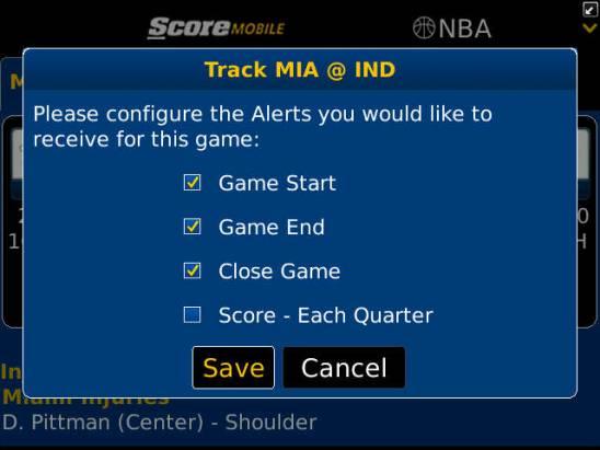 黑莓 ScoreMobile 你的專屬運動主播,每分每秒跟隨「林來瘋」