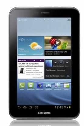 Samsung 發表 7 吋的 ICS 平板 Galaxy Tab 2