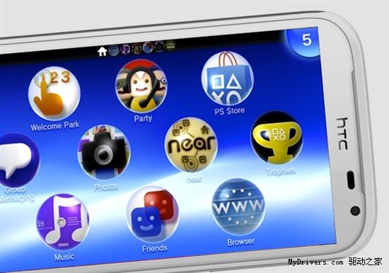 HTC將推出PlayStation認證手機/平板