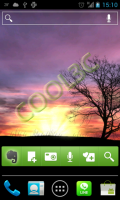 Silhouette Live Wallpaper - 美麗的日落動態桌布