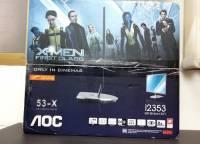 X-MEN與AOC聯名的 i2353Ph開箱!