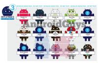 第三代 Android 公仔造型釋出