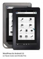 Nook Tablet Color 和 Kindle Frie 皆有 WordPress 可用了