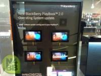 黑莓 PlayBook OS 2.0 廣告現身英國櫥窗