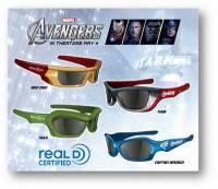 即將上映的《復仇者聯盟》推出專屬3D立體眼鏡