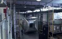 Dyson Hot 暖風器將熱氣球送上天 影片