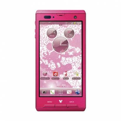 日本 Docomo 推出可愛迪士尼 Android 手機