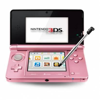 NINTENDO 3DS 將推出新色金屬粉紅,原因你知道的