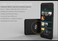 黑莓倫敦官網放出搭載 BBX 手機的相片