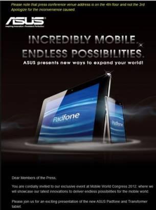Asus在MWC推出的Padfone有梗嗎?
